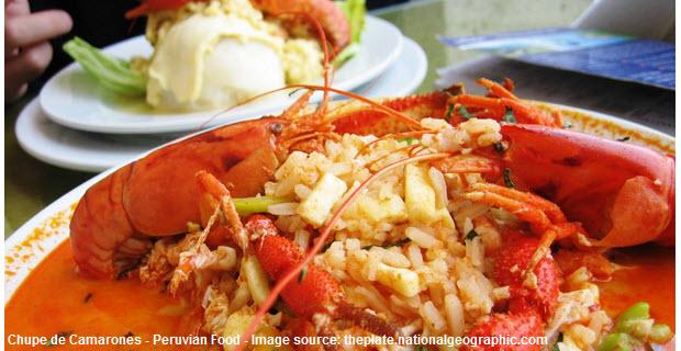 Chupe de Camarones – Peruvian Food