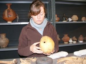 Bio-archaeologist Melissa Murphy