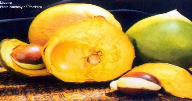 Lucuma is a popular ingredient in many Peruvian desserts