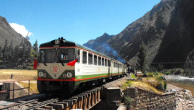 New Train Service from Ollantaytambo to Machu Picchu