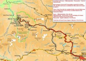 Ollantay Machu Picchu rail access 2b restored before april 1
