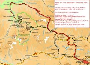 Santa Teresa Machu Picchu access 2b open by mid march
