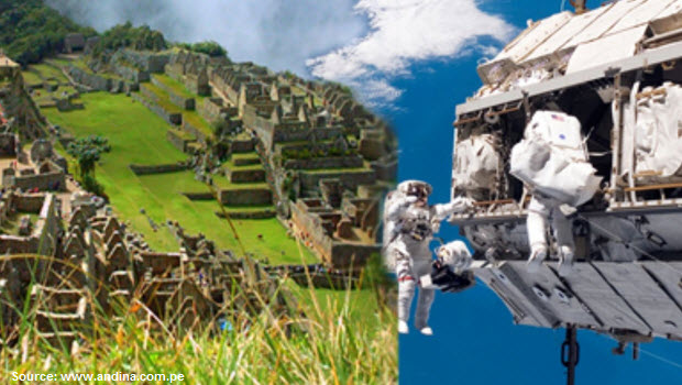 Peruvian and Russian scientists set up radio link to International Space Station from Machu Picchu