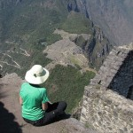 The amazing view of Machu Picchu from atop Huaynapicchu. Only 400 visitors are permitted to climb to the peak per day. Photo courtesy of Will Skelton.