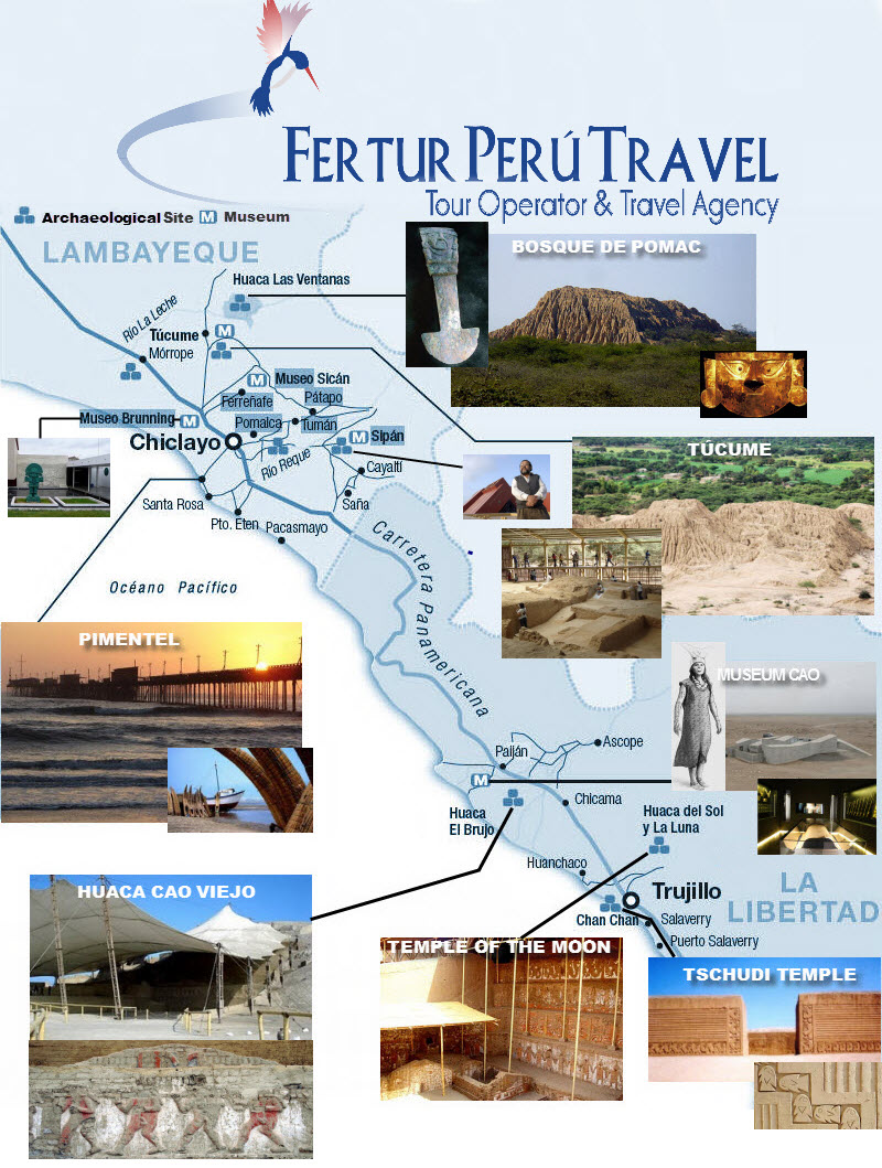 Perus plan to invest upwards of 417 million to build the Moche – Peru Tourist Attractions Map