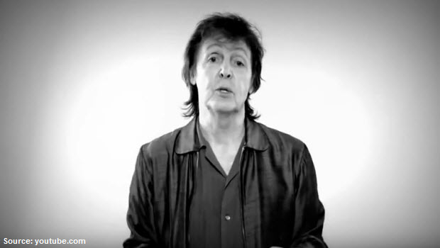 "Paul McCartney: ""We will rock"" Peru"