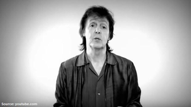 "Paul McCartney: ""We will rock"" Peru"