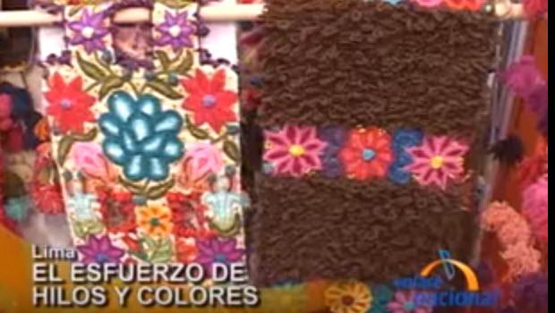 Hilos y Colores featured on Enlace Nacional