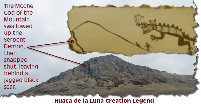 Huaca de la Luna Creation Legend