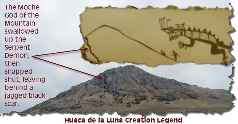 Huaca de la Luna Creation Legend
