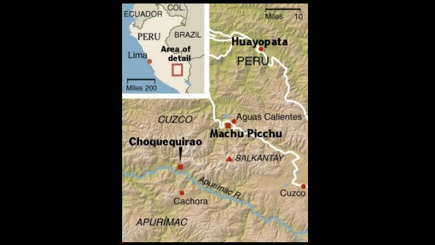 Possible alternative Inca Trail to Machu Picchu reportedly discovered