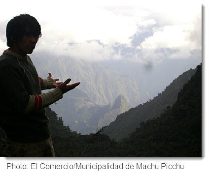 Possible Alternative Route to Machu Picchu. Click image to read original story in El Comercio