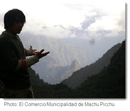 Possible Alternative Route to Machu Picchu. Click image to read original story in El Comercio