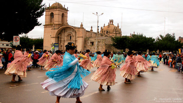 Puno's Virgen de la Candelaria Festival 2012 coming up in two months