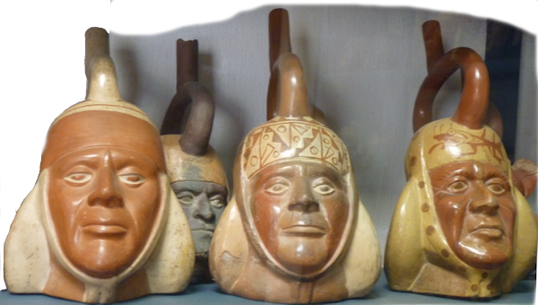 Moche portrait vessels: age progression
