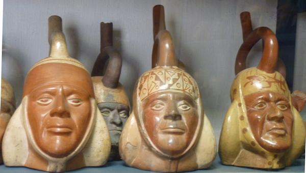 Moche portrait vessels: age progression