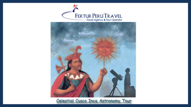 Tour Package: Inca astronomy for star gazers of the northern hemisphere