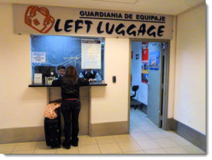 Find out where to store your luggage at Lima's Jorge Chavez International Airport & how much it costs