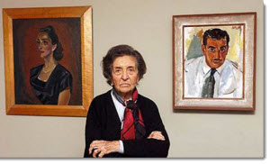 Peruvian historian Maria Rostworowski (Barranco, Lima, 8 de agosto de 1915 - )