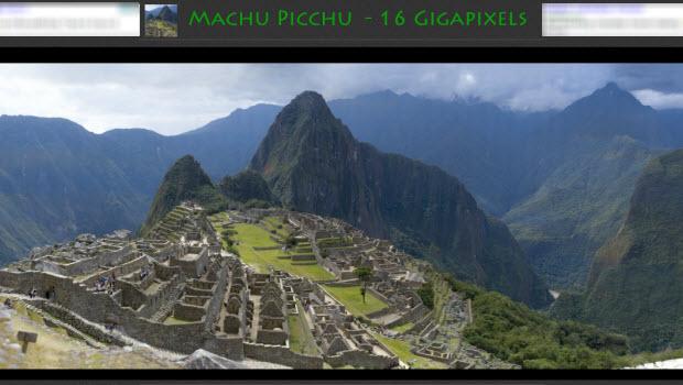 Highest resolution photo ever taken of Machu Picchu