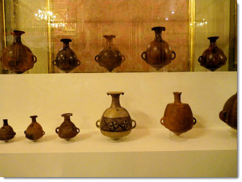 Machu Picchu Inca pottery returned to Peru in March 2011, and put on display in the Government Palace in Lima