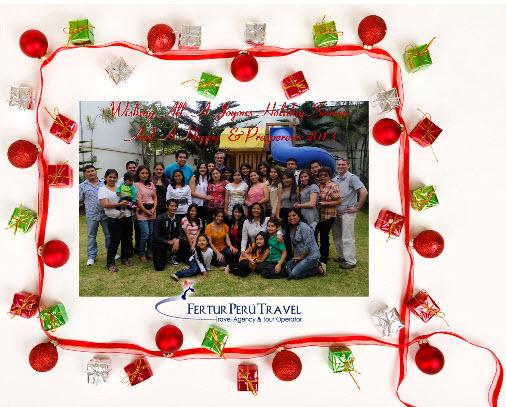 Fertur Peru Travel Wishing its Friends A Joyous New Year