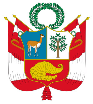 Peru's national Coat of Arms