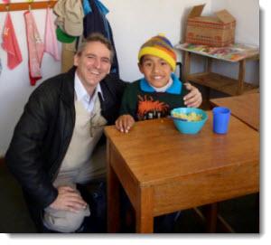 It is a privilege to offer a helping hand to the beautiful children of Manos Unidas