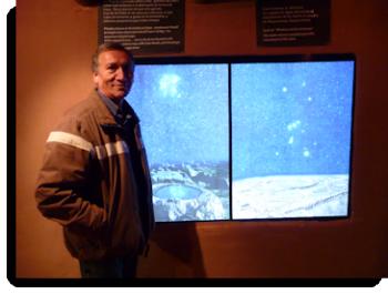 Profesor Erwin Salazar, director of Planetarium Cusco