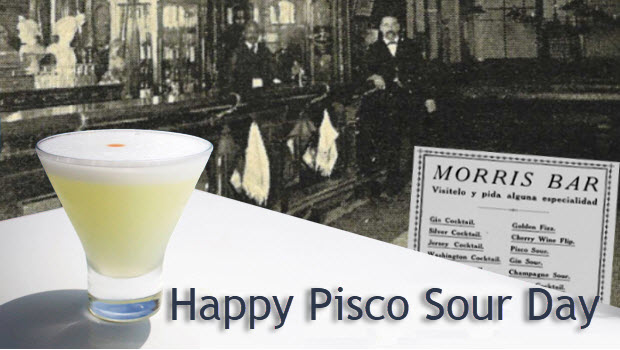 Happy National Pisco Sour Day!