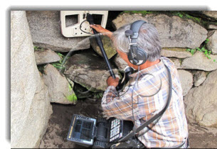 RPP: Inkari Institute archaeological team scans for hidden burial chambers and metal deposits at Machu Picchu