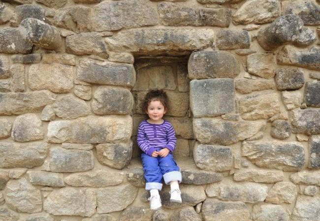 Gigi finds her niche at Machu Picchu
