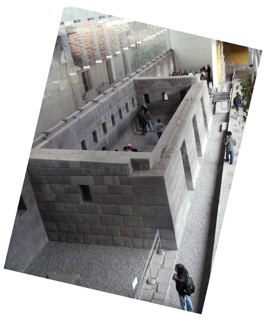Witness the mastery of incredible Inca masonry at the Corichancha-Santo Domingo Church with Fertur Peru Travel