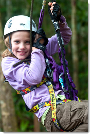 A kid-friendly Amazon jungle tour
