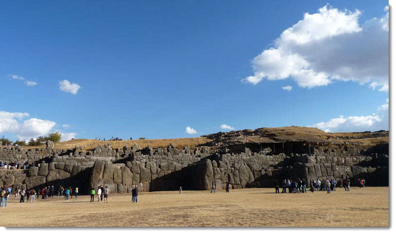 Sacsayhuaman: This titanic feat of megalithic architecture has astounded observers since the Spanish Conquest