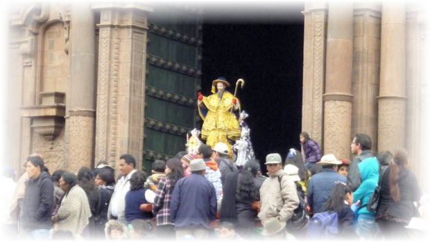 Cusco's Octava festival, wrapping up Corpus Christi 2013