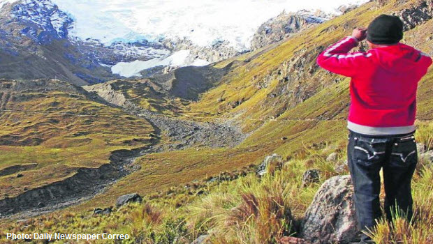 Huaytapallana recovery ~ a spot of good news on Peru's melting glacier front