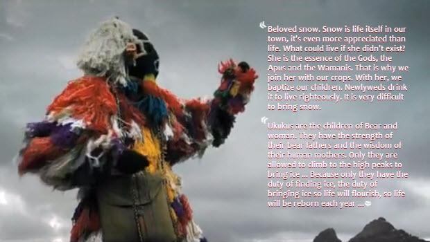 Peru's mythical ice-seeking Ukuku and its sensitivity to global climate change