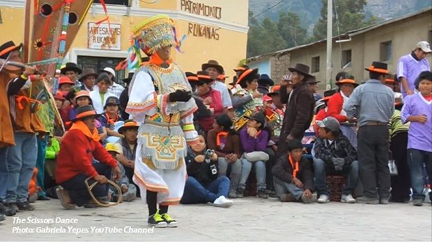 Peru's iconic scissors dance and Arguedas' interpretation