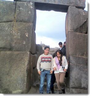 Touring Sacsayhuaman