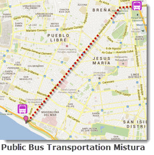 Taking Lima's public transportation to reach this year's Mistura food festival is advisable. Parking will be scarce and fines for illegal parking hefty.