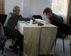 Ken Smith, HI, and Sefan Rau, NY, taking part in the 2013 Peru Tour & Scrabble® Tournament, which will take them to Cusco, the Sacred Valley and Machu Picchu.