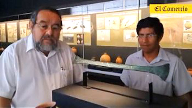 Free exhibit of ancient artifacts from El Chorro tombs