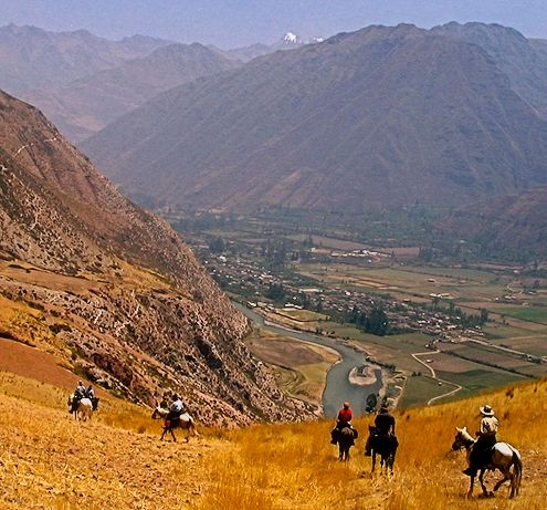 Choquequirao horse-supported, luxury treks 2014 fixed departures