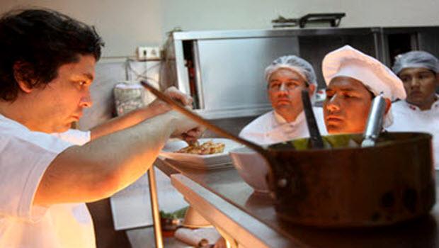 Lima foodie elite go to avant-garde, performance art extreme