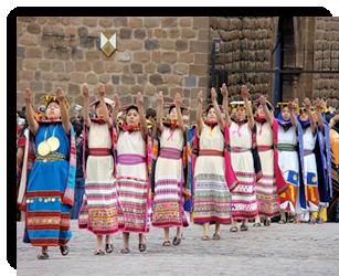 "Inti Raymi: Inca dynastic court, or ""panaca"""