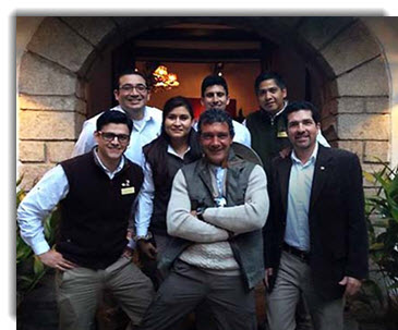 I am so taken with Cusco, with Machu Picchu, with these marvelous people - Antonio Banderas wrote