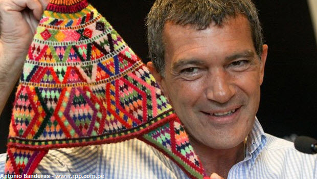 Antonio Banderas' tribute to the Inca Trail, Machu Picchu & Peruvian friends
