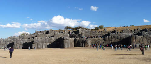 Sacsayhuaman, Sacsawaman... Sexy Woman... no matter how you pronounce it, the Inca temple fortress remains one of the greatest structures ever built.