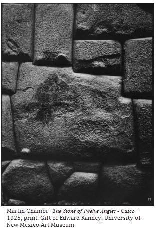 Martin Chambi - The Stone of Twelve Angles - Cusco - 1925